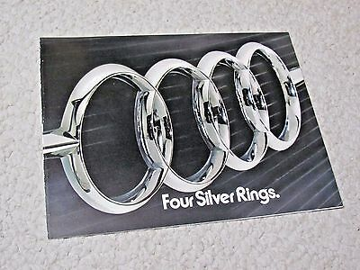 1974 Audi 100Ls Sales Brochure !!!