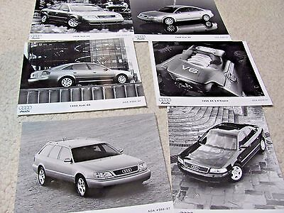 1998 Audi Original Press Photos (6 Different)