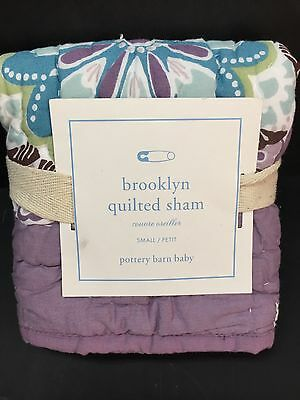 Pottery Barn Kids BROOKLYN Small QUILT_ed SHAM Toddler Crib Bed Nursery Teen NEW