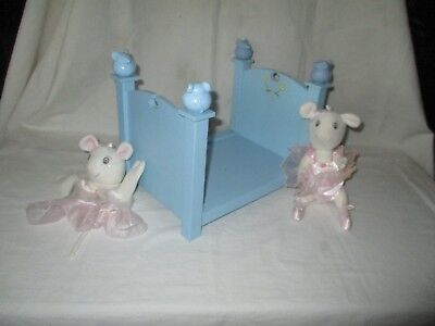 American Girl Angelina Ballerina Bed & Doll & Puppet
