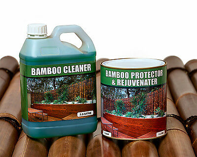 Bamboo Fencing Treatment & Rejuvenater Protection For Bamboo Fencing Panels