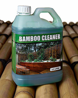 Bamboo Panel Wash Cleaner 2.5Ltr Bamboo Panel Mould Fungi Remover