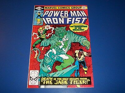 Power-man and Iron Fist #66 Bronze Age 2nd Sabretooth Key Wow VF+ Beauty