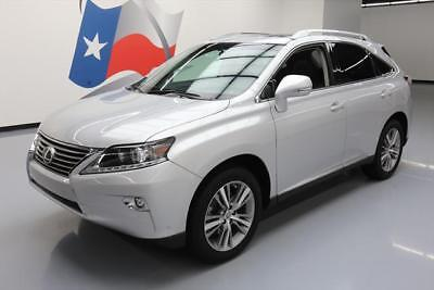 2015 Lexus RX Base Sport Utility 4-Door 2015 LEXUS RX350 PREM SUNROOF NAV CLIMATE SEATS 29K MI #157874 Texas Direct Auto