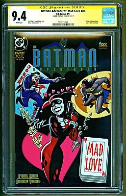 Batman Adventures Mad Love #nn (1994 DC Comics) Signed Bruce Timm SS CGC 9.4