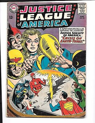 Justice League #29 (1964)  JSA X-Over, 1st app. Crime Syndicate,1st S.A Starman