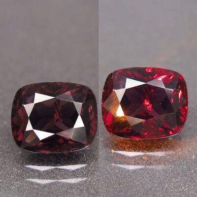 2.22ct.Fantastic! 100%Natural Top Color Change Spinel Unheated AA Rare Nr!
