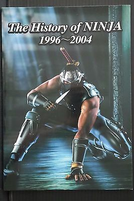 JAPAN The History of NINJA 1996~2004 (Booklet) Dead or Alive