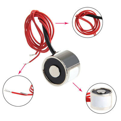 12V DC Electric P20/15 Lifting Magnet Mini Electromagnet Solenoid Lift Holding