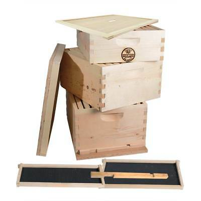 GoodLand Bee Supply GL-2B1SK-ER Beekeeping Double Deep Box Beehive Kit
