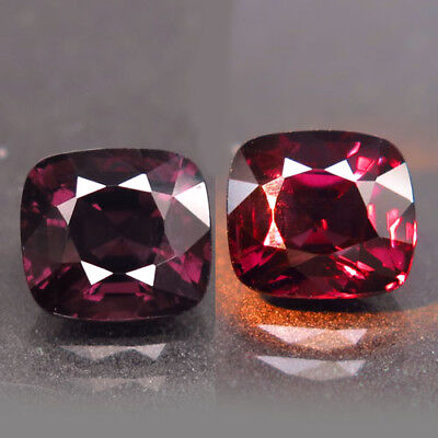 2.32ct.Gorgeous! 100%Natural Top Color Change Spinel Unheated AAA Rare Nr!