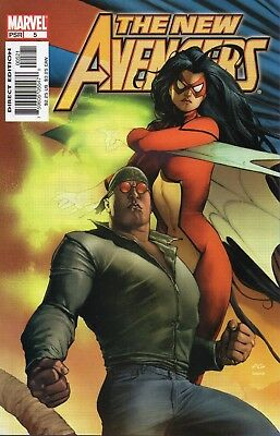 The New Avengers #5 (NM)`05 Bendis/ Finch (VARIANT)