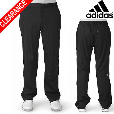 Adidas CLEARANCE Golf ClimaProof Advance Rain Pant Mens Waterproof Trousers