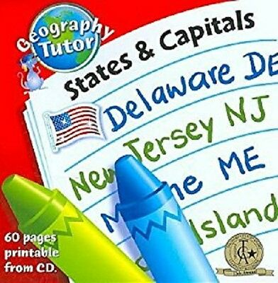 Geography Tutor States & Capitals, Songs That Teach -NEW Sealed CD