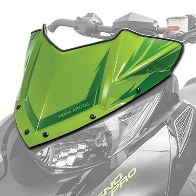 Arctic Cat Low Sno Pro Windshield Team Green 2014-2018 ZR XF M PTA BC - 7639-697
