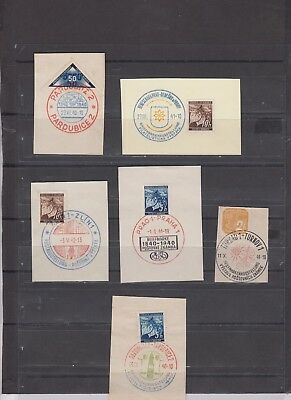lot  110   Germany  occupation cancelled on Pieces