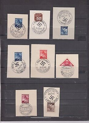 lot  111   Germany  occupation cancelled on Pieces