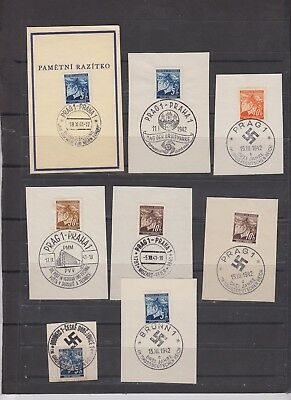 lot  112  Germany  occupation cancelled on Pieces