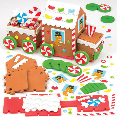 Gingerbread Train Kit Perfect For Crafts & Decorating (Each)