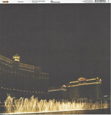 Paper JUST 99 CENTS! 2PCS Reminisce UP ALL NIGHT in...VEGAS 12x12 Scrapbooking