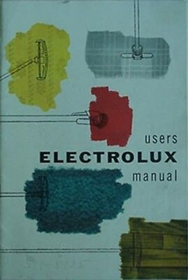 1955 Electrolux Vacuum Cleaner Users Manual + Bill Of Sale