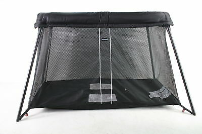 BABYBJORN Travel Crib Light, For Babies and Children Aged 0 to 3 years, Black