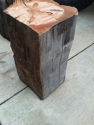 Antique hand hewn barn beam end for Carbles 8 1/2 X 16 will make a pair