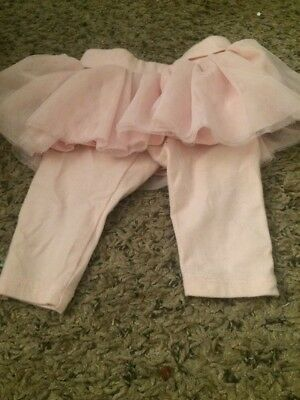 Baby Gap 0 3 Months Pink Newborn Tutu Pants Girl
