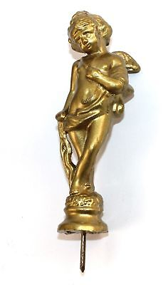 Nos Winged Cherub Clock Finial - Replacement -  Kc114