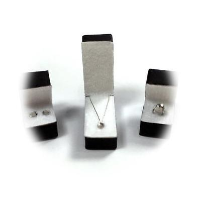 Miniature Dollhouse 1:12 Scale Necklace In Black Box - 002