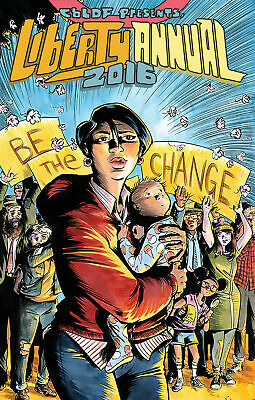 Cbldf Liberty Annual 2016 Cover A Powell (Image 2016 1St Print) Comic