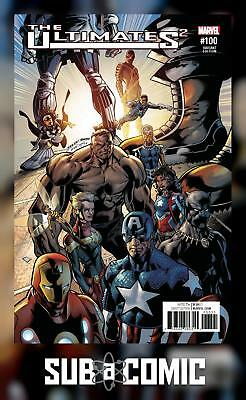 ULTIMATES 2 #100 BAGLEY VARIANT (MARVEL 2017 1st Print) COMIC