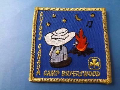 Girl Guides Of Canada Patch Camp Bryerswood Ontario  Area Collector Badge