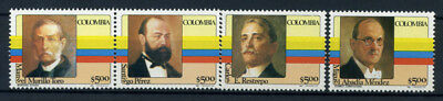 Colombia 1981 MNH 100% Presidents,