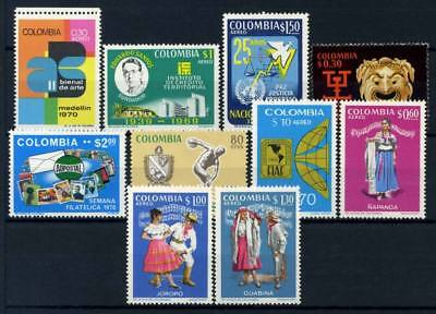 Colombia 1970 MNH 100% Culture