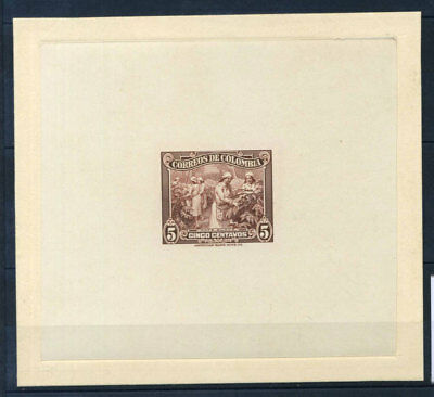 Colombia 1939 MNH 100% Proof Cafe suave