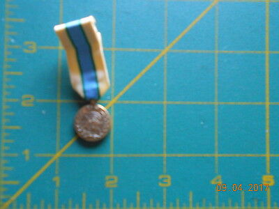 1 military mini medal   UN  /  IN THE SERVICE OF PEACE