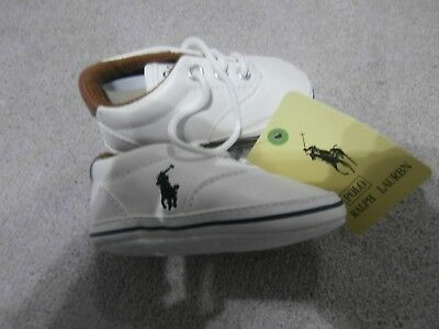 Baby boy Ralph Lauren soft pram shoes new with tags size 2 infant