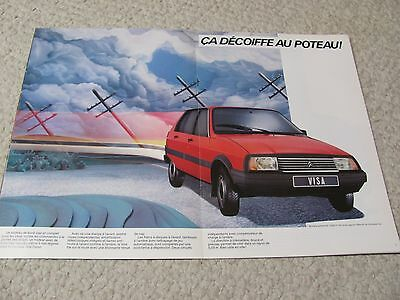 1984 Citroen Visa (France) Sales Brochure.....