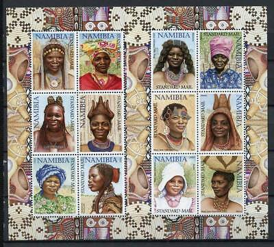 Namibia 2002 Mi. 1061-1072 Miniature sheet 100% Culture Women