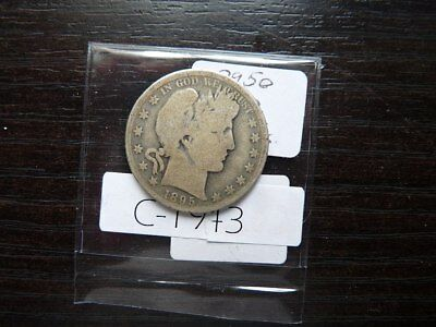 Vintage Usa 1895 O 0 50 Cent Silver   Value 55.00      C1943