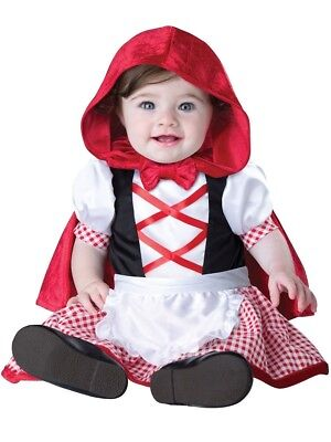 Little Red Riding Hood Child Baby Infant Costume NEW