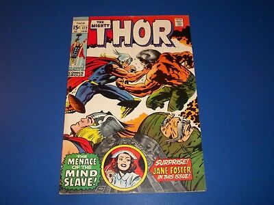 The Mighty Thor #172 Bronze Age Solid Fine-