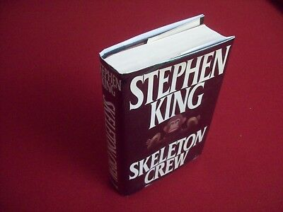 Skeleton Crew by Stephen King (1985) 1st Printing Hardcover Book