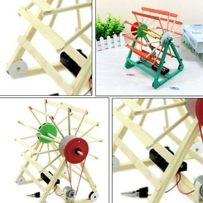 Assembled Science Technology Experiment Educational Model Kids Toy Gift DIY