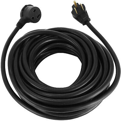 50FT 220Volt 10 Gauge Heavy Duty Welding Cable 10/3 50Amp Welder Extension Cord
