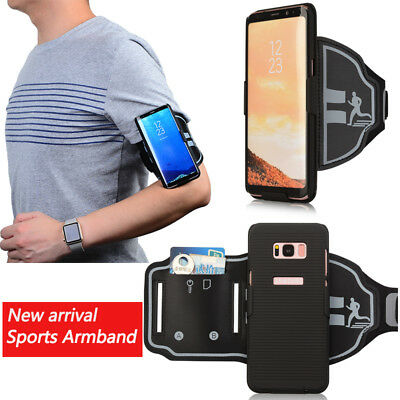For Samsung Galaxy S8 / S8 Plus Sports Running Arm Band Phone Case Holder Pouch