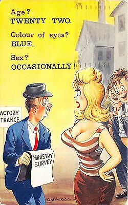 Bamforth  Comic  Black Triangle   no 2356   unused G/V Good Original
