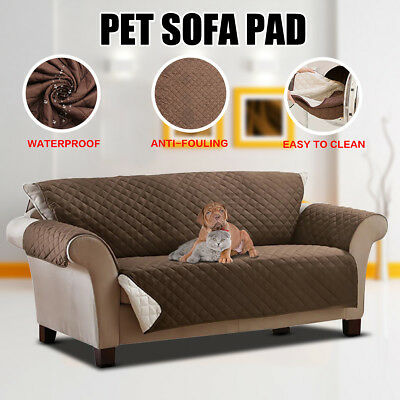 Reversible Pet Dog Couch Sofa Furniture Loveseat Cushion Pad Protector Cover