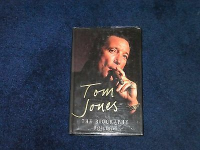 Tom Jones  Signed Book